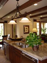 kitchen ceiling ideas pictures kitchen design ideas sprucing up ceilings with beams