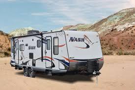 nash travel trailer floor plans northwood nash 26n