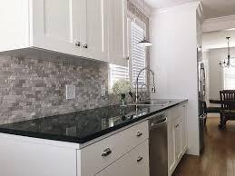 kitchen backsplash ideas with black granite countertops absolute black granite countertops black granite countertops