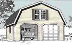 Gambrel Roof Garages by Ezgarage Building Affordable Dreams Shipping From Our Maine