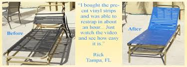 Restrapping Patio Chairs Restrapping Patio Furniture Brilliant Sling And Vinyl Replacements