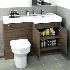 Bathroom Vanity Unit With Basin And Toilet Toilet Vanity Modern Bathroom Vanity Unit Basin Sink Storage Back