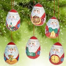 ornaments santa russian ornaments