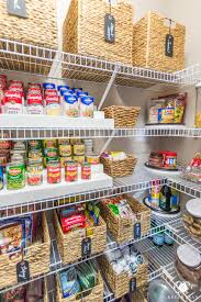 kitchen pantry organization ideas nine ideas to organize a small pantry with wire shelving kelley nan