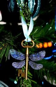 harry potter sorcerer s winged key themed ornament by