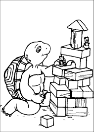 Franklin The Turtle Coloring Pages Franklin Coloring Pages