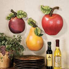 kitchen decor collections fruit wall accent set