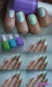lacquered lawyer nail art blog mystic marble mash watercolor nail