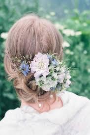 wedding flower hair delicate and seasonal wedding hair flowers beautiful