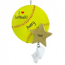 softball ornaments ornaments for you