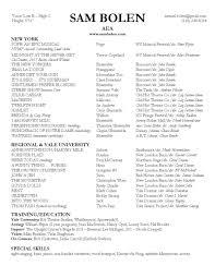 Resume Accent Resume U2014 Sam Bolen