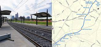 light rail schedule charlotte nc charlotte s light rail extension to university city is almost