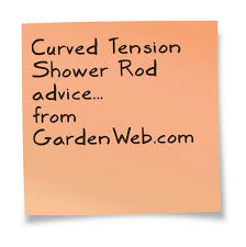 Curved Tension Shower Curtain Rods 18 Best Curved Tension Shower Rod Images On Pinterest Tension