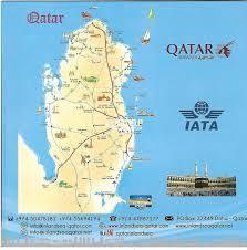 Doha Map Inbound Tours Qatar Qatar Living
