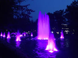 Dominion Lighting Fountains Looking Cool Picture Of Kings Dominion Doswell