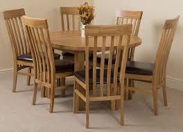 Light Oak Dining Chairs Edmonton Dining Set 6 Harvard Chairs Oak Furniture King
