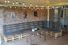 Patio Furniture Pallets by Outdoor Furniture Made From Pallets Home Design
