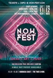 now fest ideas art music big island now events