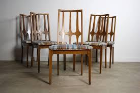 private listing u2013 lane brutalist dining table set of 7 brasilia