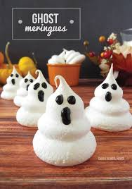 ghost images for halloween ghost meringues