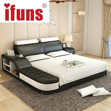 White Leather Bed Frame King Leather Bed Frame King Uforia