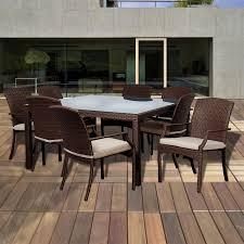 Solana Bay 7 Piece Patio Dining Set - atlantic nappa vitello patio dining sets and dining tables homeclick