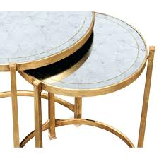 round end table target side table round mirrored side table coffee end tables target with
