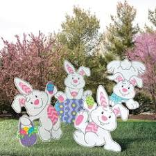 Easter Hunt Decorations by Creative Easter Outdoor Decoration Ideas Easter Carrots And Bunny