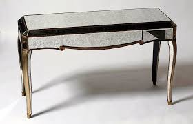 mirrored console table target glass console table modern and elegant furniture images with
