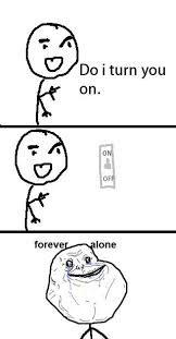 Forever Alone Meme Face - forever alone meme sharenator