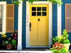 Exterior Door Colors Popular Colors To Paint An Entry Door Diy