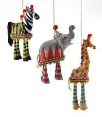 collectible animal dangle leg circus ornaments katherine s