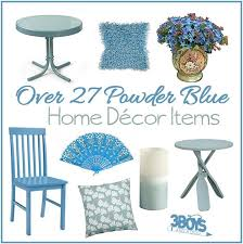 Home Decor Accent Powder Blue Home Decor Accent Pieces U2013 3 Boys And A Dog