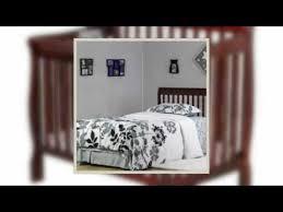 dream on me 4 in 1 aden convertible mini crib youtube