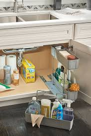kitchen sink cabinet caddy thomasville organization sink base cleaning caddy