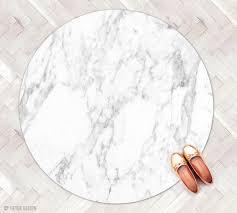 Round Rugs Modern by Carrara Marble Rug Kitchen Rug Round Rug Minimalist