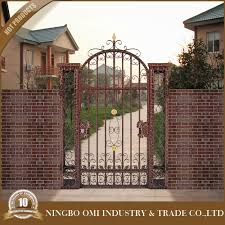Main Door Simple Design Reliable Cast Iron Gate Grill Design 2016 Jia China Supplier