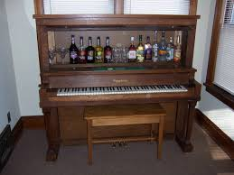How To Repurpose Piano Benches by Repurposed Piano Wet Bar The Piano Wet Bar Is Made From A Vintage