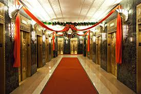festive holiday decor for offices and commercial space beneva