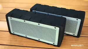 demo video braven brv hd rugged bluetooth speaker youtube