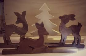 Scroll Saw Christmas Decorations - oh deer u2026 the wife tries her hand at the scroll saw woodworker u0027s wife