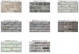 types of grays brick vector picture brick types