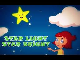 Star Light Star Bright Lyrics Star Light Star Bright Lullaby For Kids Classic Nursery Rhymes