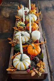 how to decorate thanksgiving table