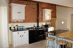 kitchen paneling ideas faux brick wall panels for kitchen decor ideas with stool and