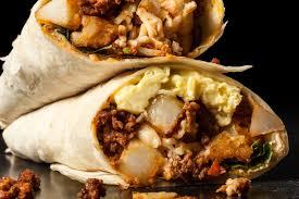 chorizo breakfast burritos recipe chowhound