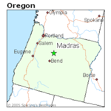 map of oregon showing madras best places to live in madras oregon