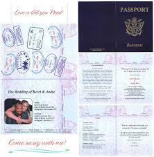passport wedding invitations u2013 gangcraft net