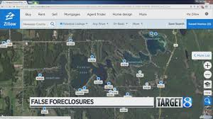 check your address zillow lists false foreclosures youtube