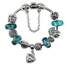 bracelet charm pandora images White birch silver plated heart charm bracelet charms jpg
